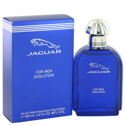 Jaguar Evolution by Jaguar Eau De Toilette Spray 3.4 oz (Men)