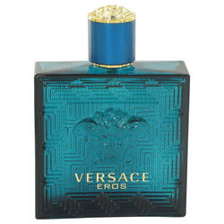 Versace Eros by Versace Eau De Toilette Spray (Tester) 3.4 oz (Men)