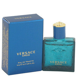 Versace Eros by Versace Mini EDT .16 oz (Men)