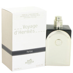 Voyage D'Hermes by Hermes Pure Perfume Refillable (Unisex) 3.3 oz (Men)