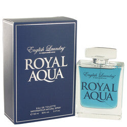 Royal Aqua by English Laundry Eau De Toilette Spray 3.4 oz (Men)