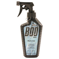 Bod Man Dark Ice by Parfums De Coeur Body Spray 8 oz (Men)
