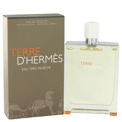 Terre D'Hermes by Hermes Eau Tres Fraiche Eau De Toilette Spray 4.2 oz (Men)