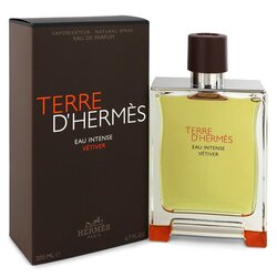 Terre D'hermes Eau Intense Vetiver by Hermes Eau De Parfum Spray 6.8 oz (Men)