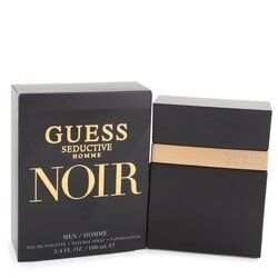 Guess Seductive Homme Noir by Guess Eau De Toilette Spray 3.4 oz (Men)