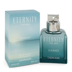 Eternity Summer by Calvin Klein Eau De Toilette Spray (2020) 3.4 oz (Men)