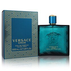 Versace Eros by Versace Eau De Parfum Spray 6.8 oz (Men)