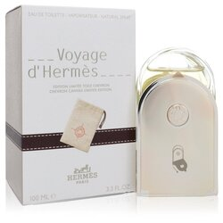 Voyage D'Hermes by Hermes Eau De Toilette Spray with Pouch (Unisex) 3.3 oz (Women)