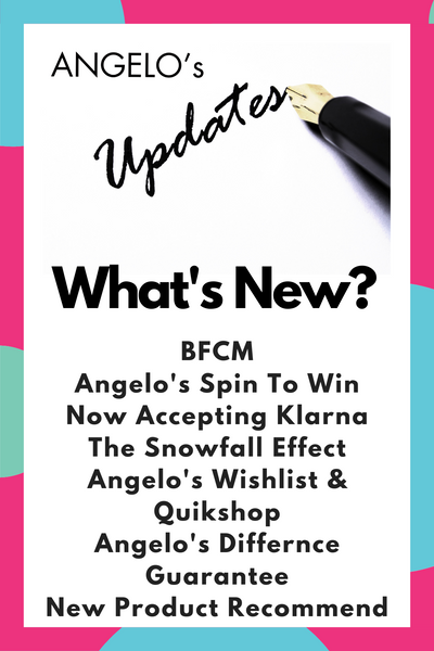 November Edition - Angelo's Update