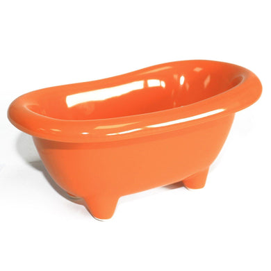 Ceramic Mini Bath - Orange - Angelo's Outlet Ltd