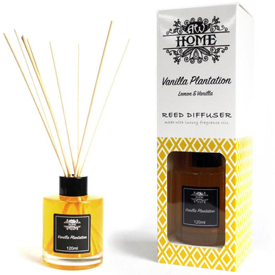 120ml Reed Diffuser -  Vanilla Plantation - Angelo's Outlet Ltd