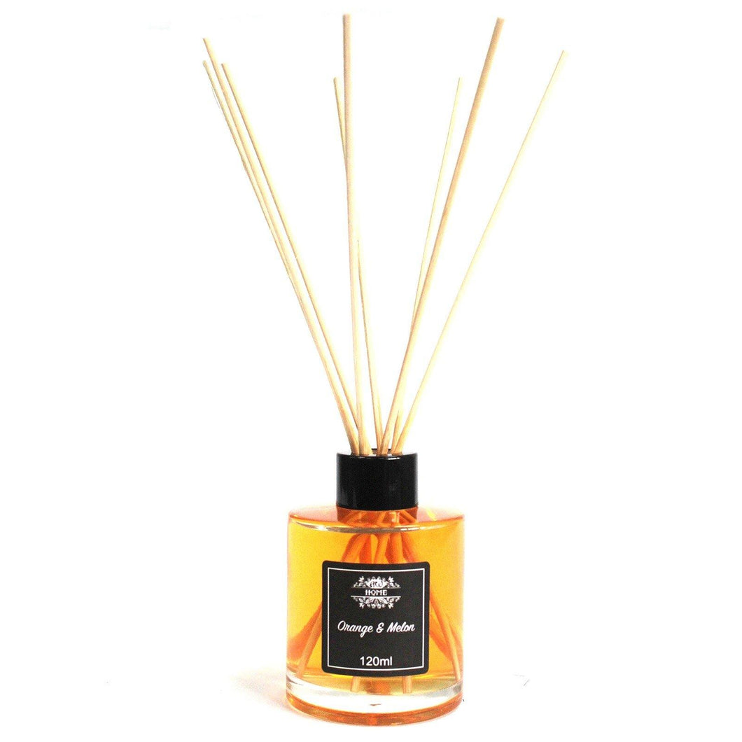 120ml Reed Diffuser - Orange & Melon - Angelo's Outlet Ltd