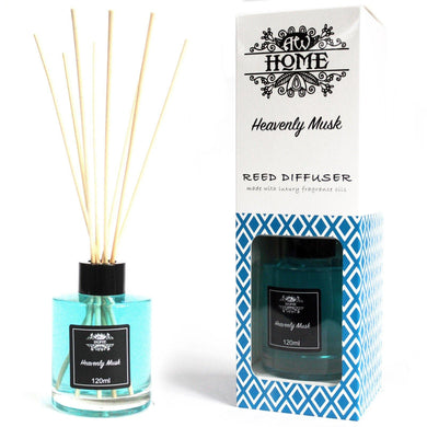 120ml Reed Diffuser -  Heavenly Musk - Angelo's Outlet Ltd