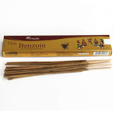 Vedic -Incense Sticks - Benzoin - Angelo's Outlet Ltd