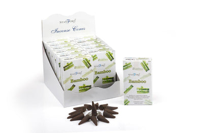 Bamboo Incense Cones - Angelo's Outlet Ltd