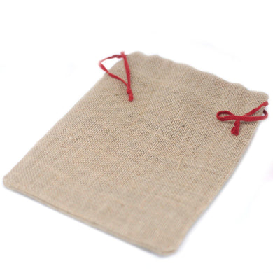 Small Jute Sack - 180x220mm - Angelo's Outlet Ltd
