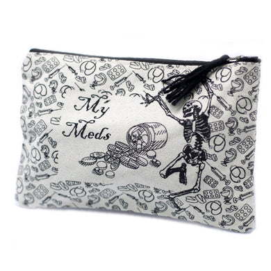 Classic Zip Pouch - My Med - Angelo's Outlet Ltd