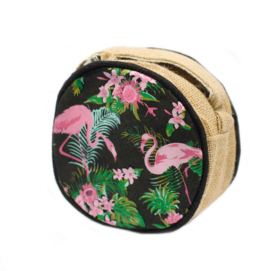 Eco Round Bag - Small - Flamingos - Angelo's Outlet Ltd