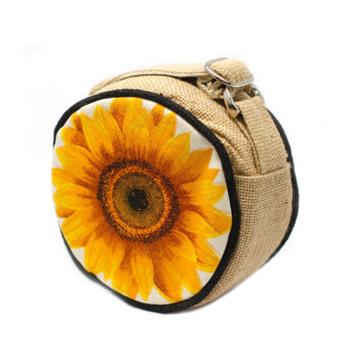Eco Round Bag - Small - Sunflower - Angelo's Outlet Ltd