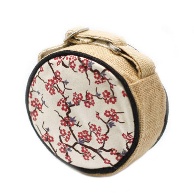 Eco Round Bag - Small - Cherry Blossom - Angelo's Outlet Ltd