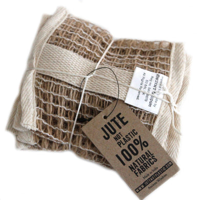 Soft Jute Soap Bag - Angelo's Outlet Ltd