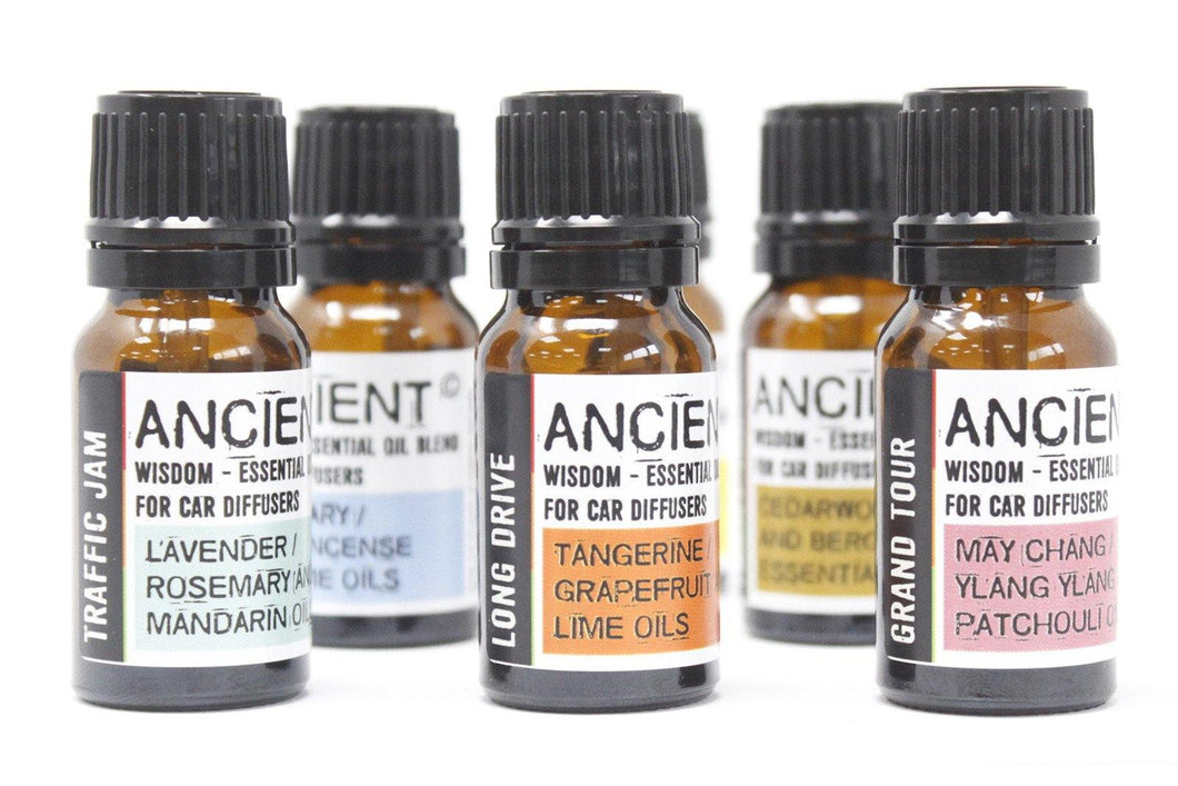 10ml Aromatherapy Car Blend - Travel Ease - Angelo's Outlet Ltd