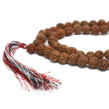 Load image into Gallery viewer, 108 Rudraksha Mala - Natural - Angelo's Outlet Ltd