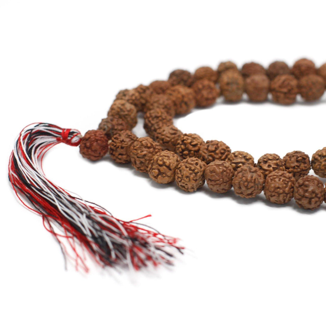 108 Rudraksha Mala - Natural - Angelo's Outlet Ltd