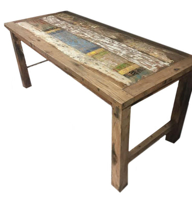 Recycled Teakwood Dinning Table 1.8 m - Angelo's Outlet Ltd
