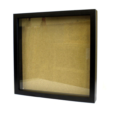 Deep Box Picture Frame 14x14 inch - Black - Angelo's Outlet Ltd