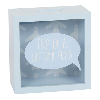 Trip Of A Lifetime Fund Money Box - Angelo's Outlet Ltd