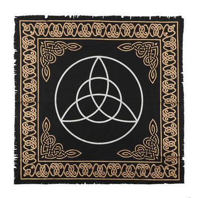 65x65cm Triquetra Altar Cloth - Angelo's Outlet Ltd