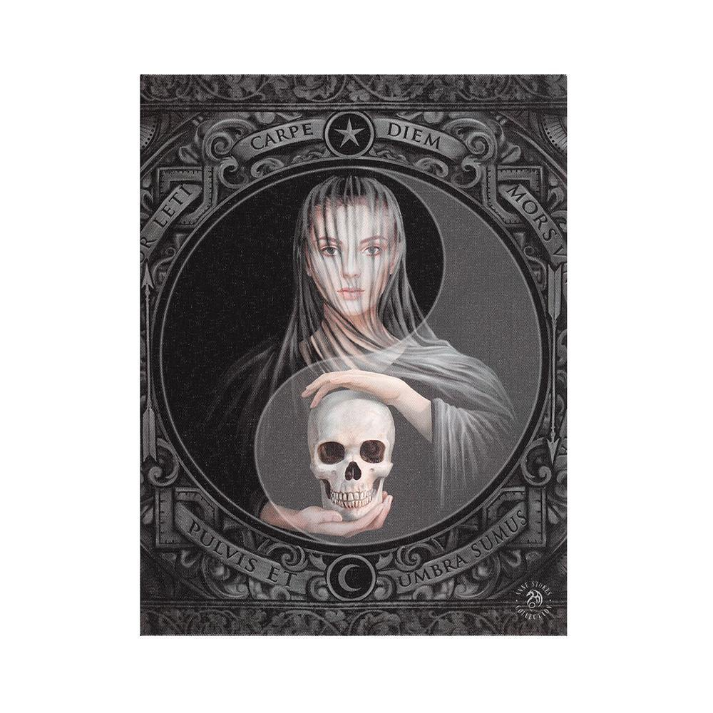 19x25cm Beyond the Veil Canvas Plaque by Anne Stokes - Angelo's Outlet Ltd