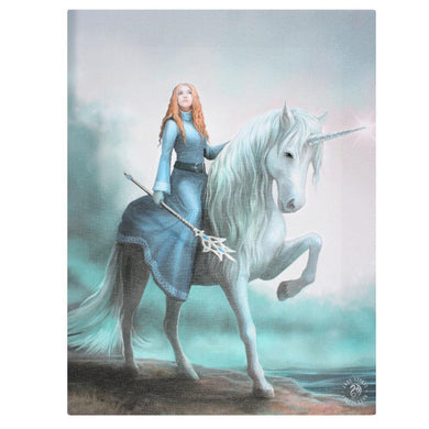 19x25cml Journey Starts Canvas Plaque by Anne Stokes - Angelo's Outlet Ltd