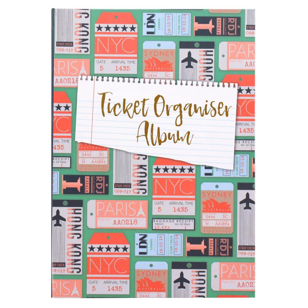 Ticket Organiser Album - Angelo's Outlet Ltd
