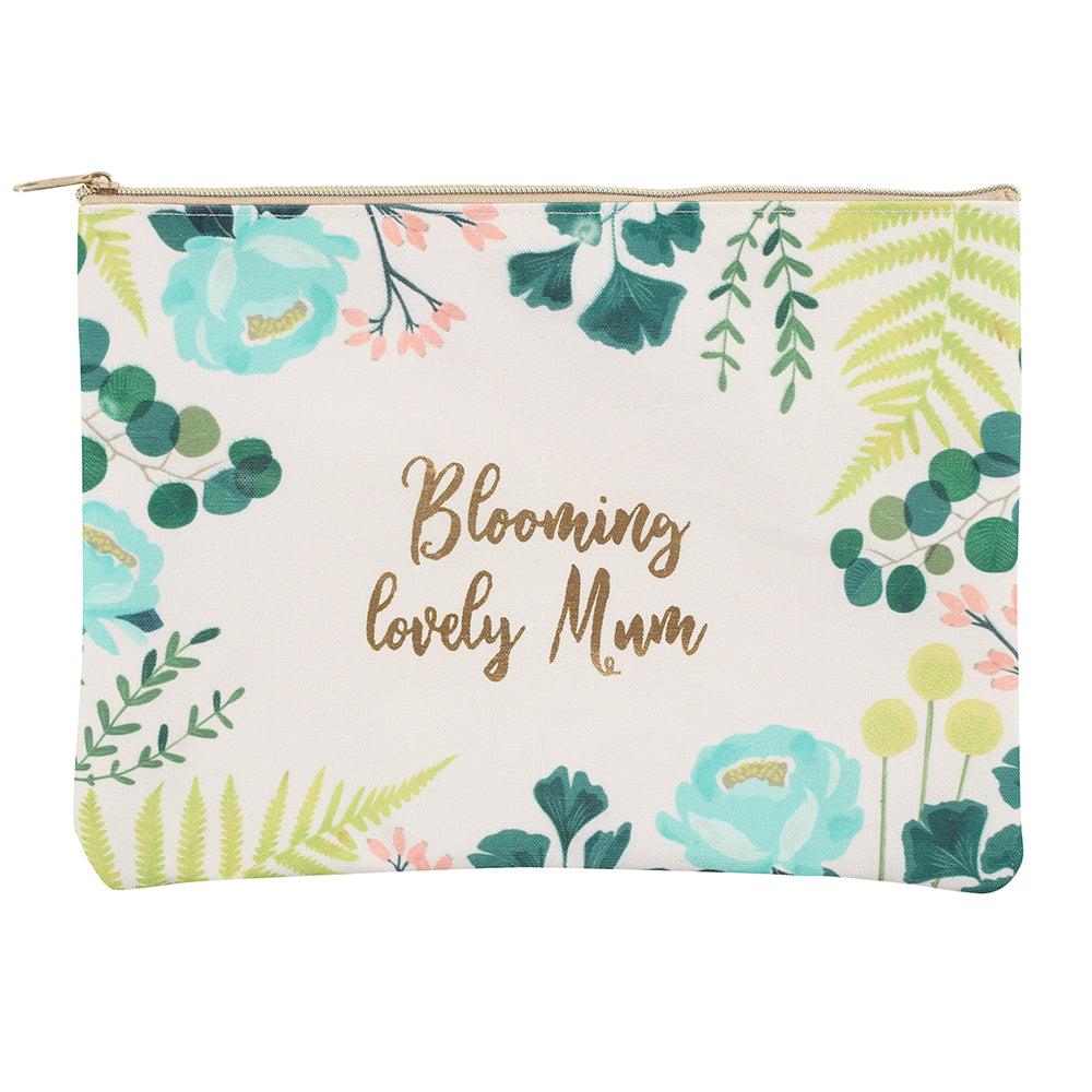Blooming Lovely Mum Makeup Bag - Angelo's Outlet Ltd