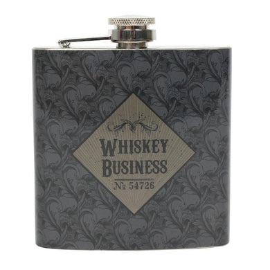 Whiskey Business Hip Flask - Angelo's Outlet Ltd