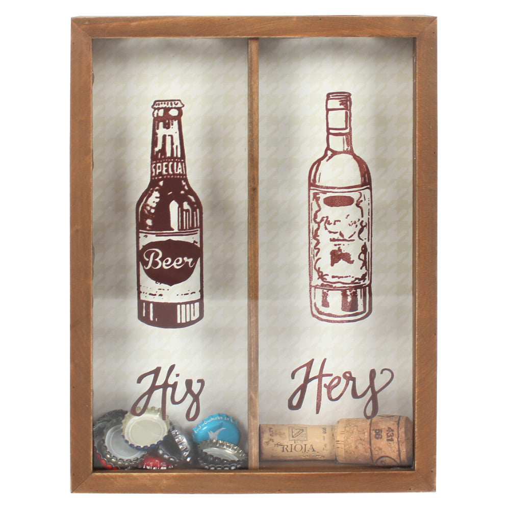 His & Hers Bottle Top Collector - Angelo's Outlet Ltd
