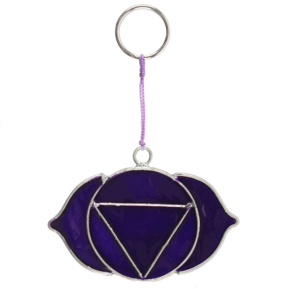 Third Eye Chakra Symbol Mini Suncatcher - Angelo's Outlet Ltd
