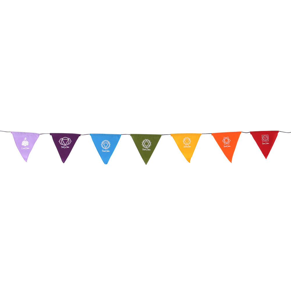 Chakra Symbol  Rainbow Bunting - Angelo's Outlet Ltd