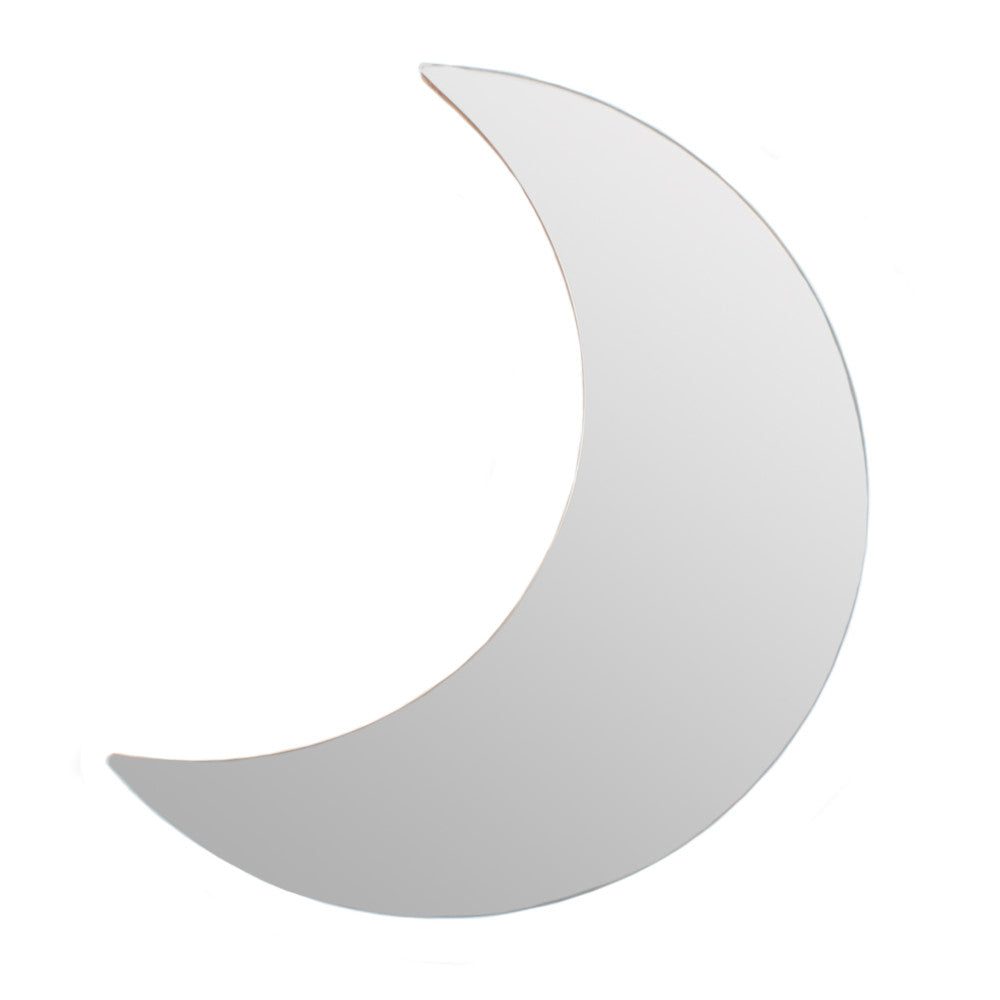 Crescent Moon Mirror - Angelo's Outlet Ltd