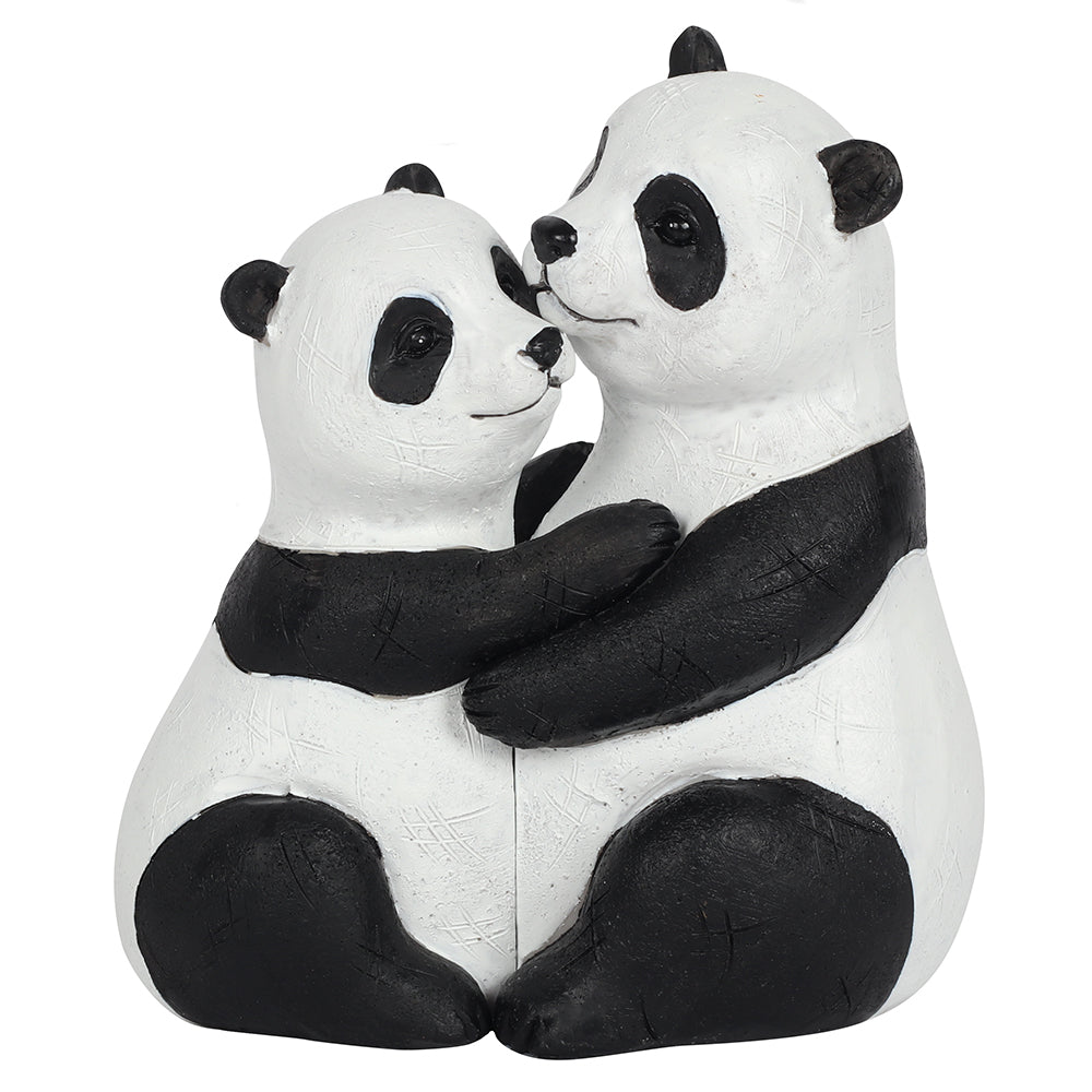 Panda Couple Ornament - Angelo's Outlet Ltd