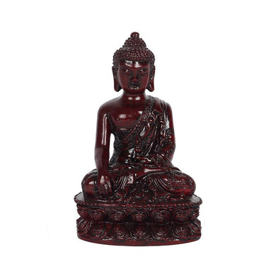 12cm Red Thai Buddha - Angelo's Outlet Ltd