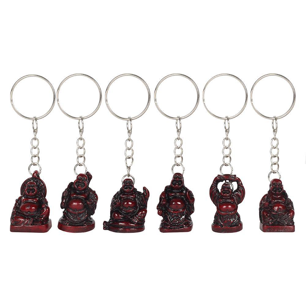4cm Red Buddha Keyring - Angelo's Outlet Ltd