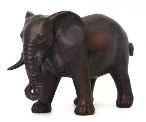 Bronzed Elephant Ornament - Angelo's Outlet Ltd