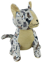 Load image into Gallery viewer, Cat Print Doorstop 21 Cm - Angelo's Outlet Ltd