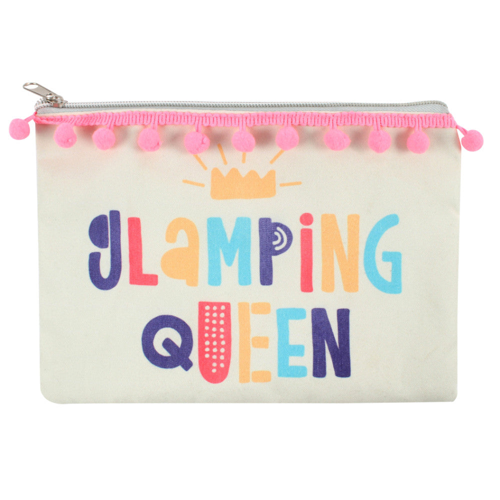 Glamping Queen Makeup Bag - Angelo's Outlet Ltd