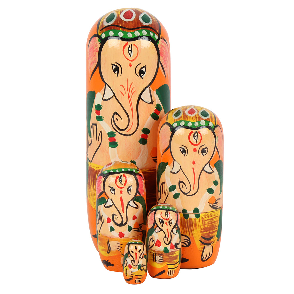 Ganesh Russian Doll - Angelo's Outlet Ltd