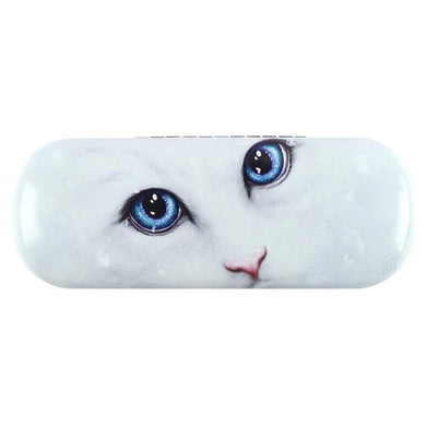 Winter Cat Glasses Case by Linda Jones - Angelo's Outlet Ltd
