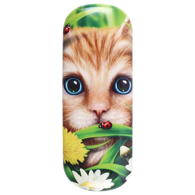 Summer Cat Glasses Case by Linda Jones - Angelo's Outlet Ltd